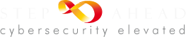 Step Ahead Cybersecurity Elevated Footer Logo